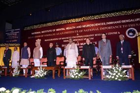 President of India Dedicates NIMHANS to the Nation as an Institute of National Importance